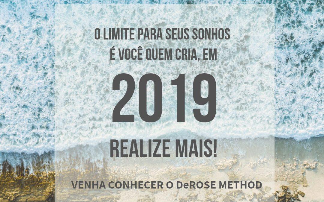 Comece 2019 Realizando!