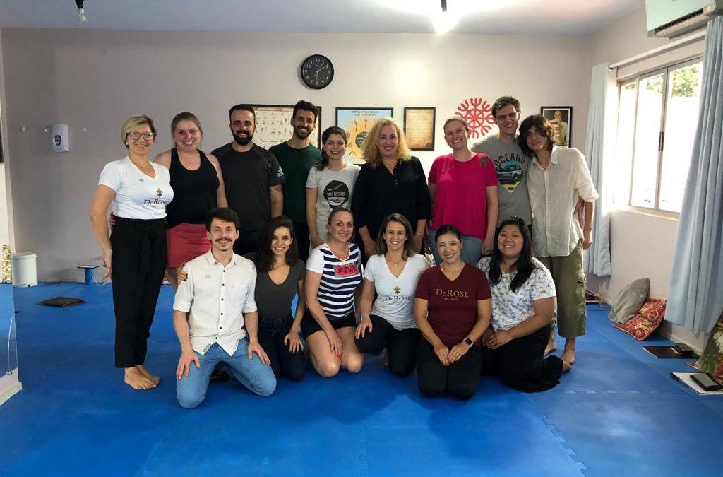 Workshop de Meditação e Respiração realizado dia 30/11